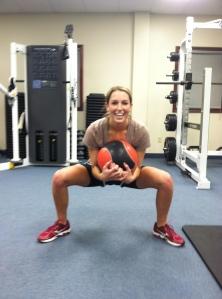 squat 25 lb